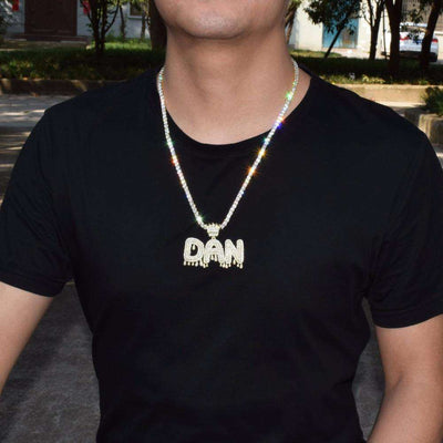 The 24K Gold Plated Crown Bail Bubble Chain - Mancessorize