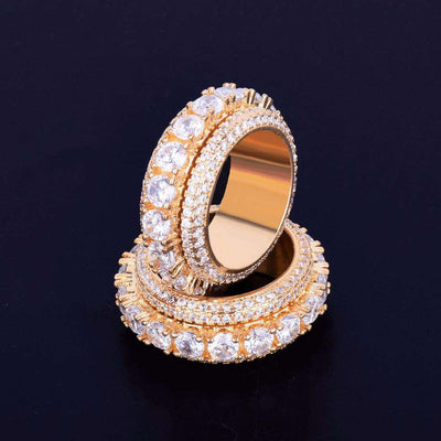 The Rotating Ring - 18K Gold plated - Mancessorize
