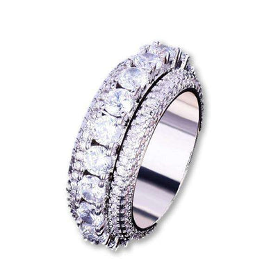 The Rotating Ring - Silver - Mancessorize