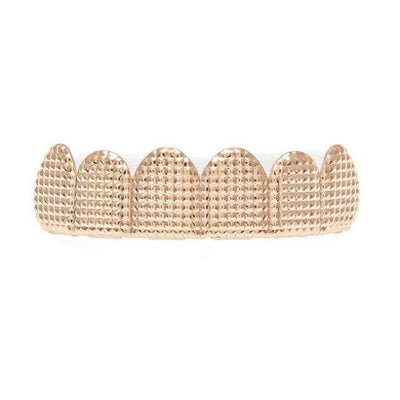 Rose Gold Lattice Grillz - Mancessorize