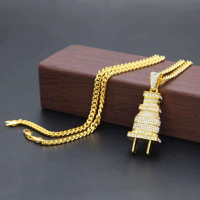 The Gold Plug Chain - Mancessorize