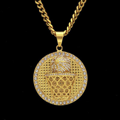 The Hoop Medallion Chain - Mancessorize
