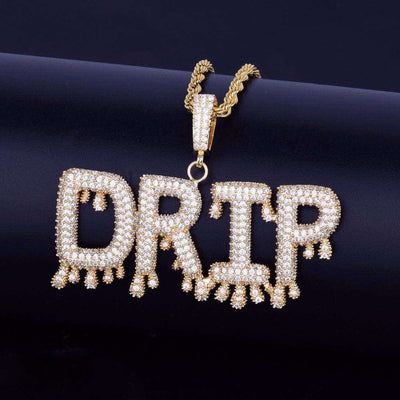 The Icicle Custom Bubble Chain - 24K Gold Plated - Mancessorize