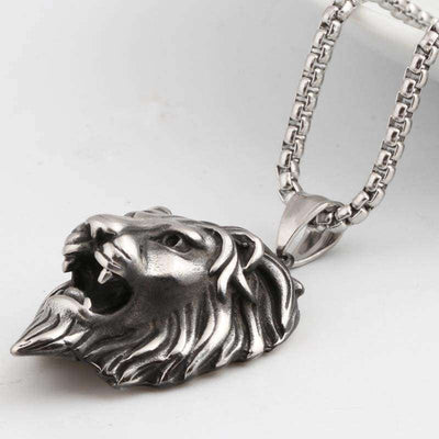 The Lion Head Chain - Mancessorize