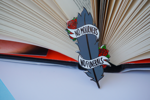 Crow Feather | Six of Crows Enamel Pin