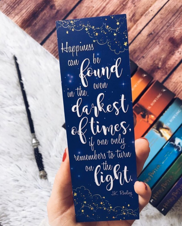 Happiness Can Be Found | Harry Potter Bookmark