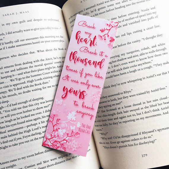 Break My Heart | The One Bookmark