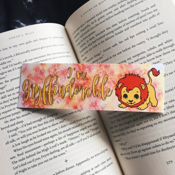 I'm Gryffindorable | Harry Potter Bookmark