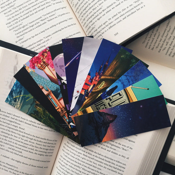 Monthly Box Bookmarks Bundle