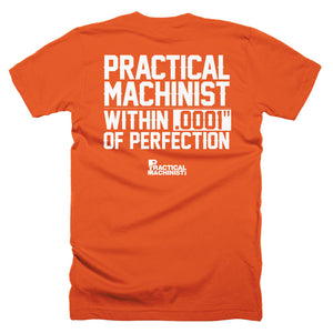 ".0001"" Perfection T-Shirt"