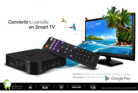 Bleck Android TV BOX