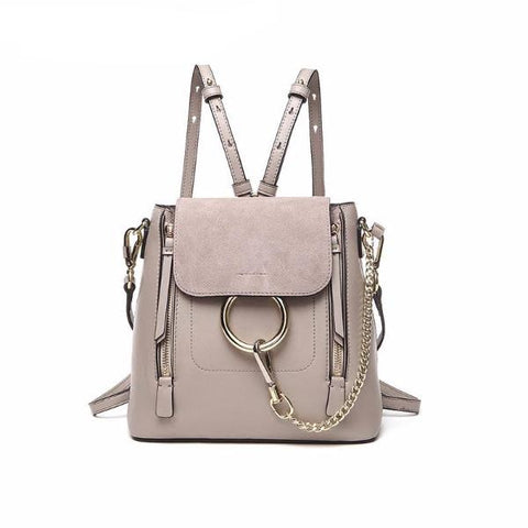 Elegant Ring Chain Backpack