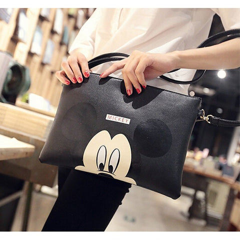 Mickey Leather Crossbody Bag