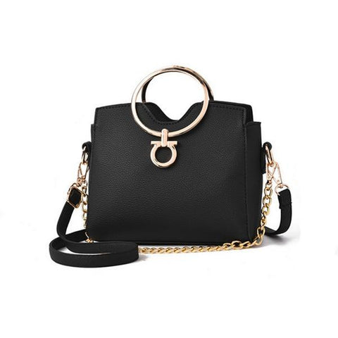 Casual Chains Metal Crossbody Bag