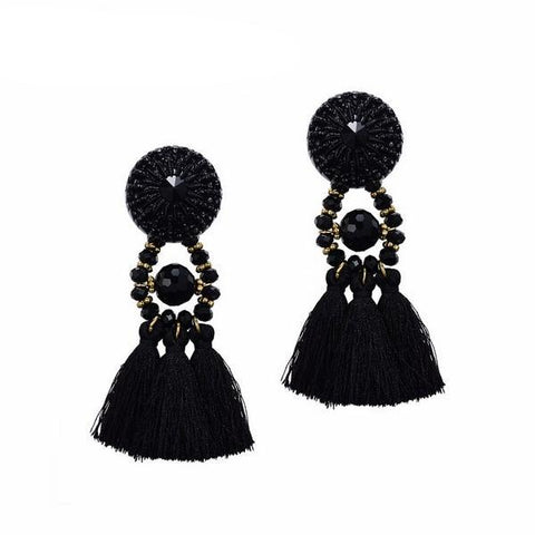 Hanging Tassels Drop Earrings