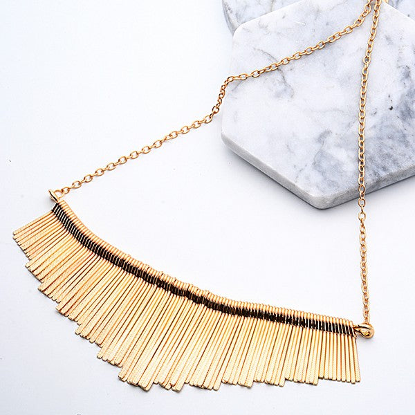 Fashion Party Tassel Choker Necklace