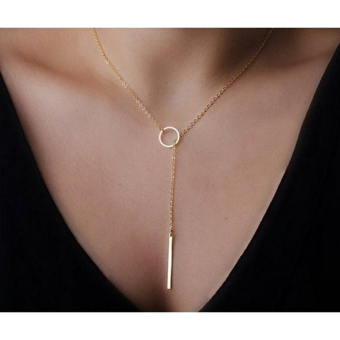 Hottest Fashion Cross Lariat Pendant