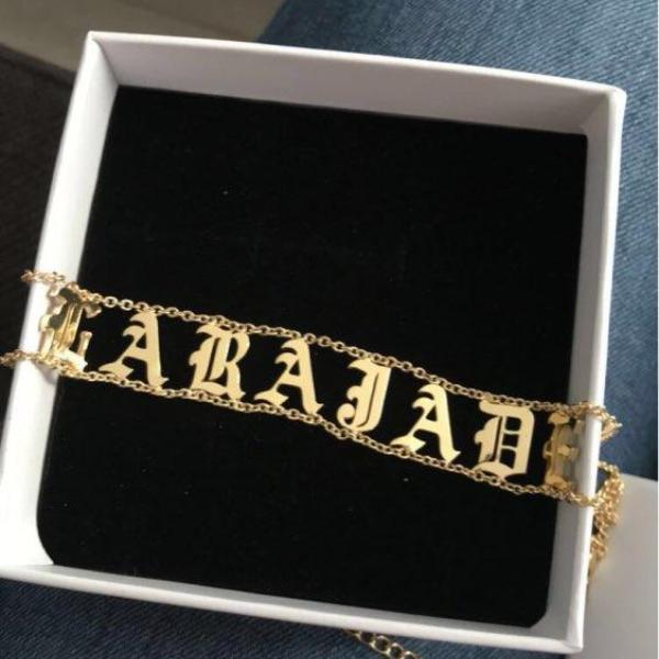 Fashion Personalized Name Choker