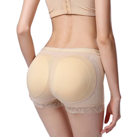 818adcd8fc FLJ FASHIONZ Women Padded Panties Butt Lifter Control Panties Butt Enhancer  Lift Thicken Seamless Panty Push