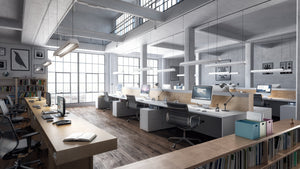 Commercial Interior Rendering - Halo Renders