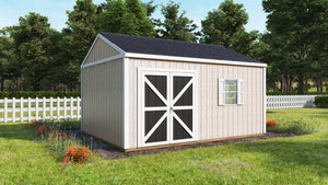 Product Rendering of Shed - Halo Renders