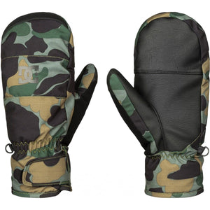 DC Men's Seger Mitt Ski and Snowboard Mittens Cool Camo, Medium