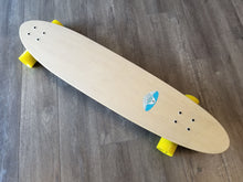 "Black Angel 40"" Pintail Longboard with Clear Grip Tape"
