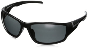 Polaroid Wrap Polarized Sunglasses Black & Grey P7407S