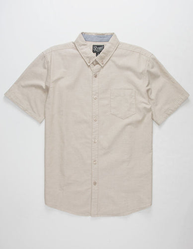 Vans Houser White Short Sleeve Shirt