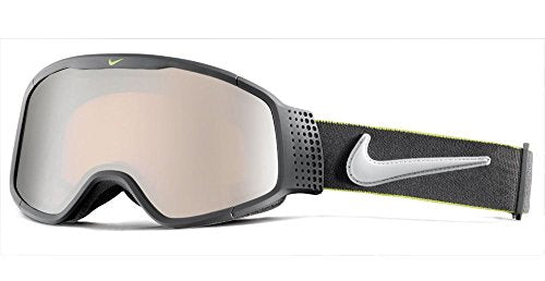 Nike Mazot Matte Anthracite/Wolf Grey/Cyber/Silver Ion Ski and Snowboard Goggles