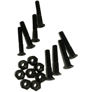 Black Angel 1-1/4 Inch Skateboard Hardware