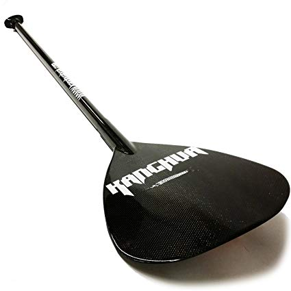 Kanghua  Black Carbon Fiber Adjustable SUP Paddle
