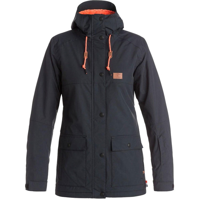 DC Women's Cruiser Insulated Ski and Snowboard Jacket Black, Large