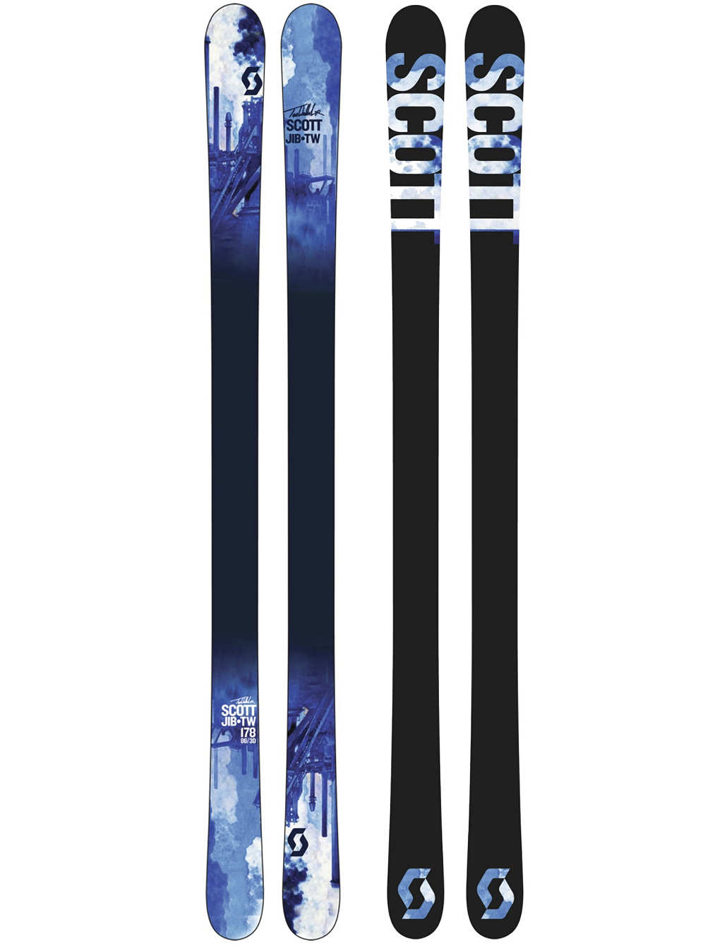 Scott Jib TW Park and Pipe Skis