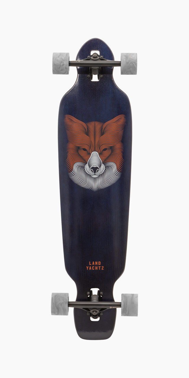 Battle Axe 38 Fox Longboard Complete