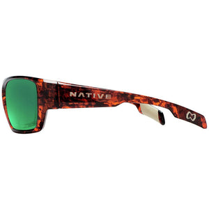Native Eyewear Ward Polarized Sunglasses Maple Tort/Brown