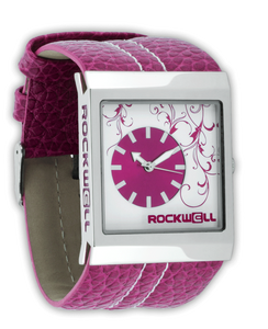 ROCKWELL MERCEDES WATCH PINK/WHITE