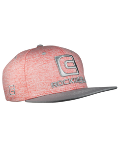 ROCKWELL SNAPBACK OG HAT HEATHER RED