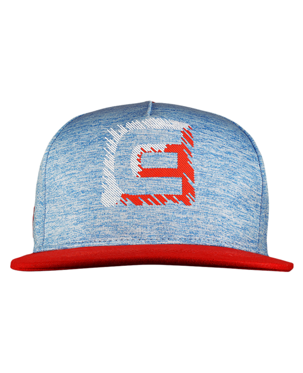 Freedom Snapback Hat Heather Red/White/Blue