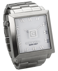 50MM2 WATCH SILVER/WHITE
