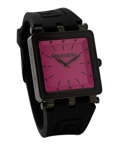 The CF Lite 40mm Wrist Watch, Black/Pink