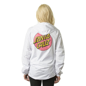 Other Dot Hooded Women's Windbreaker Jacket