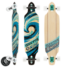Slab Mini Drop-Through Freeride Longboard Complete