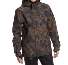Holden Mens 3L Fishtail Jacket Camo