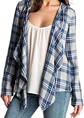Roxy City Poncho Flannel