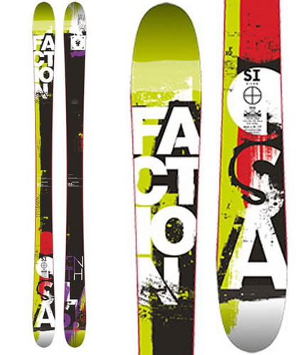 Faction Silas Park Skis