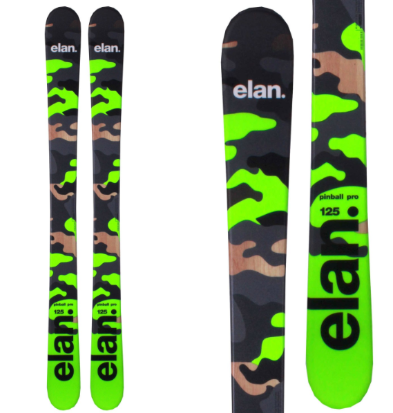 Elan Men's Pinball Park and Pipe Snow Skis