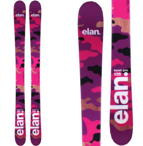 Elan Women's Twist Twin Tip Freestyle Skis
