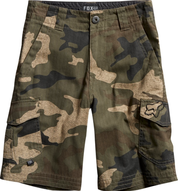 Fox Boy's Slambozo Cargo Short Camo