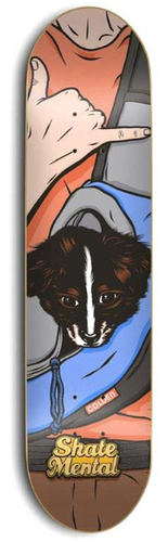 Skate Mental Colden Dog Carrier 8.3 Skateboard Deck